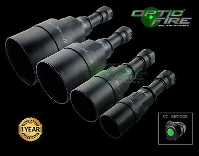 Opticfire® AG-VI LED Hunting torch IR night vision scope lamp lamping gun light