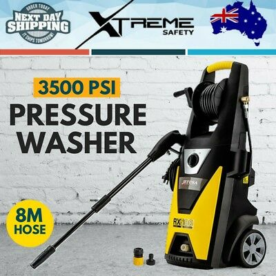 Electric Cold Water High Pressure Washer Cleaner Gurney Pump 8M Hose 3500 PSI