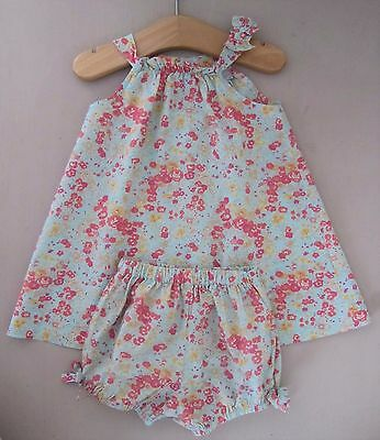CYRILLUS Liberty : Vestido 3 meses / Robe 3 mois / French design Dress 3 Month