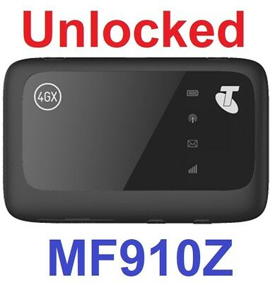 New *Unlocked* Telstra 4GX ZTE MF910Z Wifi Modem (Amaysim, TPG, Vaya, OVO)