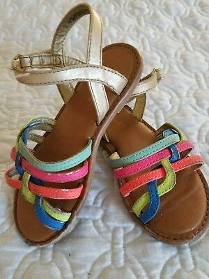 Girls Sandals Cat and Jack size 10 youth