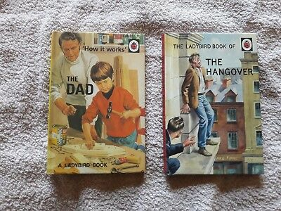 "Two ""How It Works"" Ladybird Books: The Hangover and the Dad"