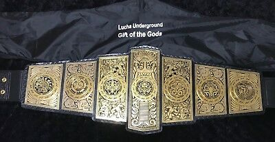 lucha underground Gift Of The God's Replica Wrestling Belt WWE Wwf ROH Wcw