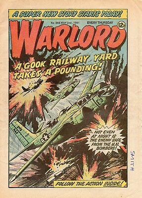 Warlord 4 Issues Uk War Comic. Issues 265,345,346,347. Good Condition See Scan