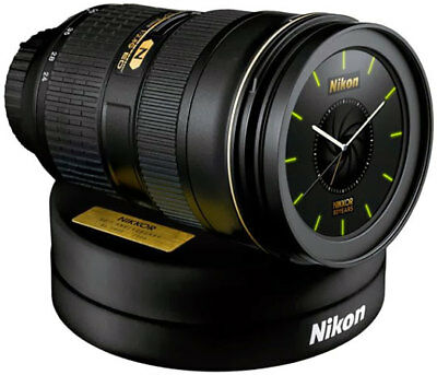 Nikon Clock 24-70 With D4 Shutter Alarm! Limited Edition JAPAN ONLY RELEASE