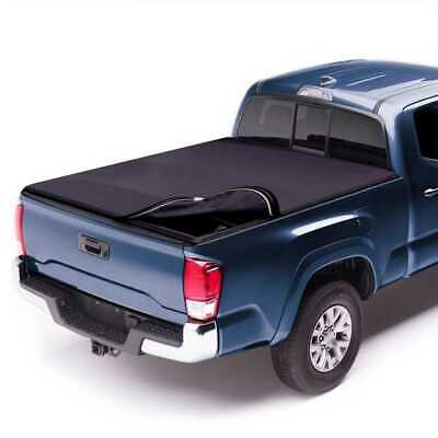 6.5ft Bed Lock & Roll Soft Tonneau Cover fits 09-17 Dodge Ram 1500 2500 3500