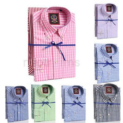 Mens Shirts 2 Pack Oxford Button Down & 3 Pack Formal Double Cuff & Cufflink Set