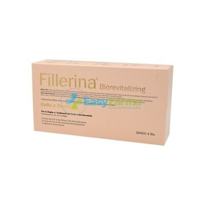 Fillerina Biorevitalizing Collo Decollete Trattamento Completo 3D Collagen Gr 4