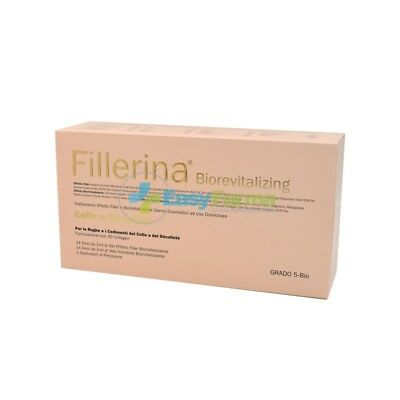 Fillerina Biorevitalizing Collo Decollete Trattamento Completo 3D Collagen Gr 5