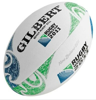 Gilbert World Cup Beach Rugby Ball New Zealand 2011
