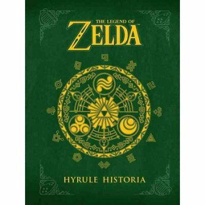 The Legend of Zelda: Hyrule Historia ( Hardcover ) FREE SHIPPING