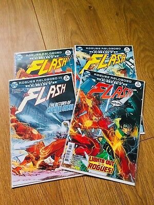 Flash #14 #15 #16 #17 - Rogues Reloaded Complete - DC Rebirth - 1st print - NM