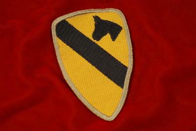 WWII U.S. 1st CAVALRY SHOULDER PATCH - THEATER MADE