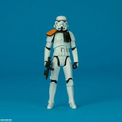 "Stormtrooper Officer Star Wars Rogue One Hasbro 3.75"" 5POA Empire Imperial loose"