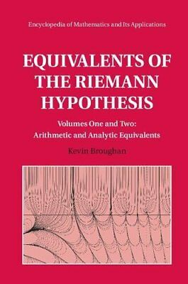 Equivalents of the Riemann Hypothesis 2 Hardback Volume Set (Kevin Broughan) | C