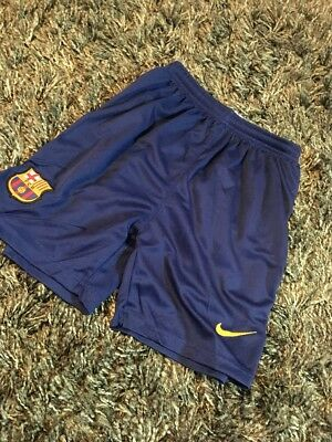 Official Barcelona F.C. Shorts - Size 9-11