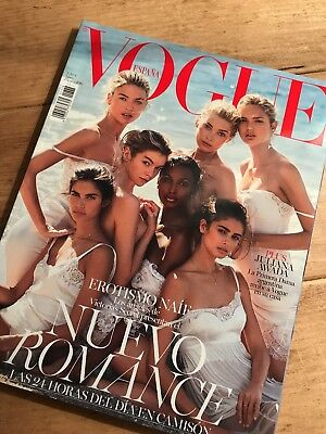 Vogue Spain Spanish Fashion Magazine May 2016 Victoria's Secret Angels Cover