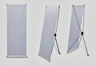 """LOT OF 10 - Trade Show X Banner Stands 31*71"""" Sign Display (Hardware + Bags)"""