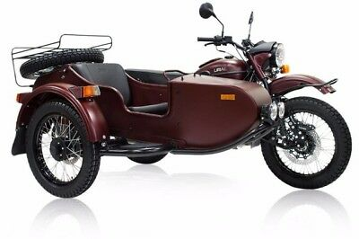 2018 Ural Gear Up 2WD Burgundy Satin  The latest generation LED Fog Lights Reverse Gear Financing & Trades