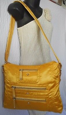 08b1e4a8a7f TOD'S PASHMY TRACOLLA Yellow Shoulder Bag With Snake Skin Trim ...