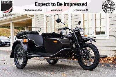 2017 Ural Gear Up 2WD Flat Black Classic  New Generation Parking Brake Brembos Reverse Gear Financing & Trades
