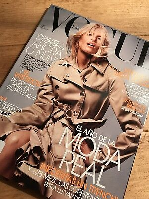 Vogue Spain Spanish Fashion Magazine January 2014 Louise Parker Cover