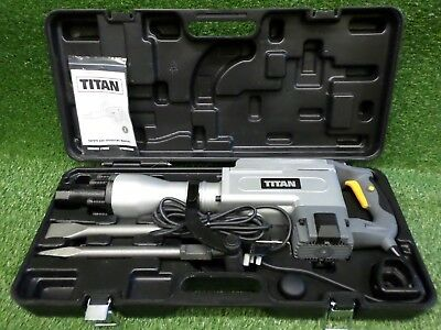 Titan Ttb280Drh 15.5Kg Hex Shank Construction Electric Concrete Breaker 230V
