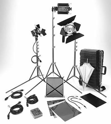 Lowel DV Creator 1 Video Lighting Location Kit with GO-85 Case