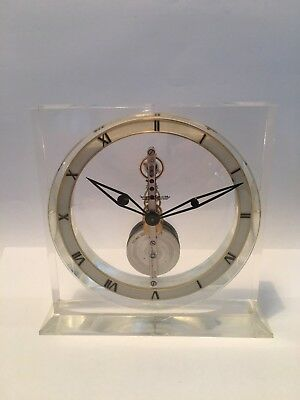 Jaeger LeCoultre Clock Mantle Table Vintage