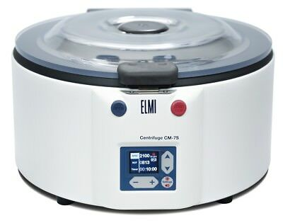 ELMI CM-7S Benchtop Swing-Out Centrifuge, LCD Display, Perfect for PRP, No Rotor