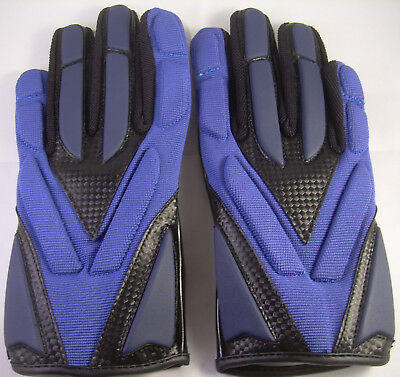 Full Force Football Handschuhe,HORNET, Gr. S, navy, LB, RB, CB