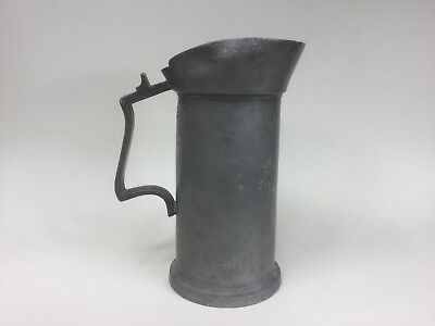 An Old Dutch Pewter Measure - 1 Liter