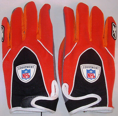 Reebok NFL Equipment Football Handschuhe,  Gr. XL, orange, Receiver +  RB