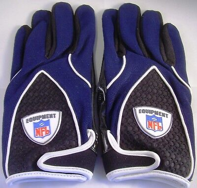 Reebok NFL Equipment Football Handschuhe,  Gr. XL, navy Receiver +  RB