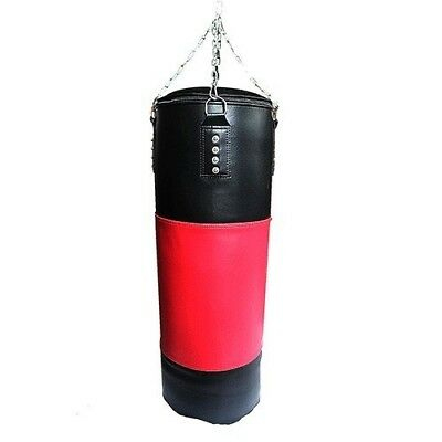 NEW Boxing Punching Bag in Red and Black