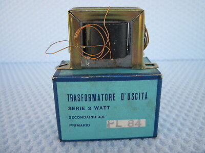 Trasformatore D'uscita Pl84 2W Single Ended Nos