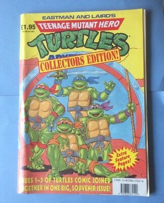 Teenage Mutant Hero Turtles Collecters Edition! - Comic TMHT 1990 Issues 1-3