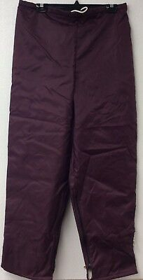 Gem Sportswear VINTAGE Made In USA NWT Track Pants Maroon Adult Large