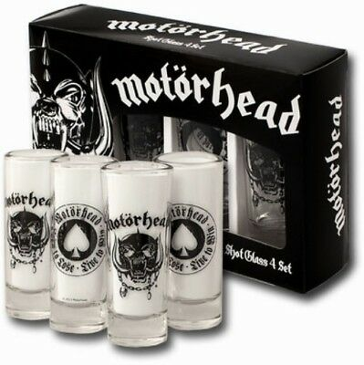 Verres Shot Motorhead - Set de 4 Shots
