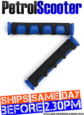 Motorbike Bicycle Brake Lever Covers Grips Protectors Black Blue MTB BMX Cycle