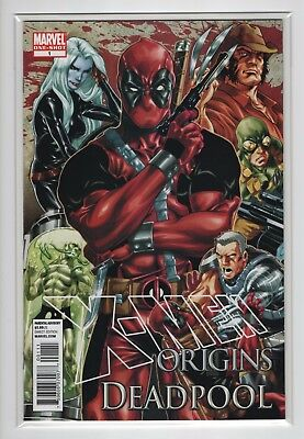 X-Men Origins Deadpool  VF/NM 9.0  (Marvel Comics 2010 One-Shot)
