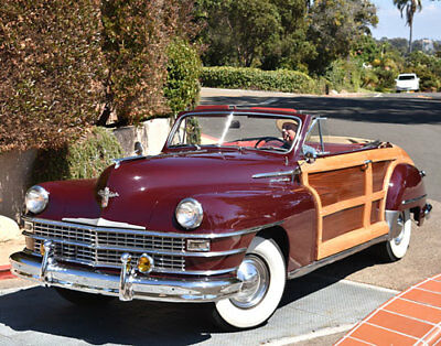 1948 Chrysler Town & Country  CALIFORNIACLASSIX 1948 Chrysler Woody Convertible