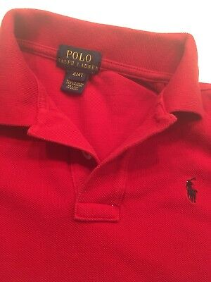 Boys Ralph Lauren Polo Shirt Age 4