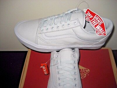 fe55eafb40 Vans Mens Old Skool Lite Micro Chip All Grey Skate shoes Size 8 UltraCush  NWT