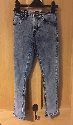Girls Next Acid Wash Skinny Jeans Age 9 Years