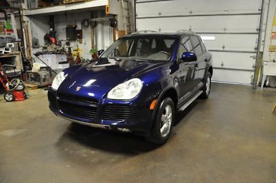 2005 Porsche Cayenne Turbo outhwest life perfect service history Rear mounted spare