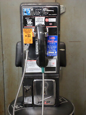 payphone for a prop pay phone with lock and key movie tv show decoration
