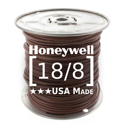 250 Foot Roll Thermostat Wire 18/8 •  Honeywell Genesis (TW-18/8)