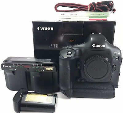 Canon EOS 1DX Digital SLR Camera Body 111,622 Shutter actuations