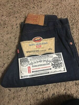 Vintage Made in USA Levi's 1981, 505-0217, Original Red Tag 28-29